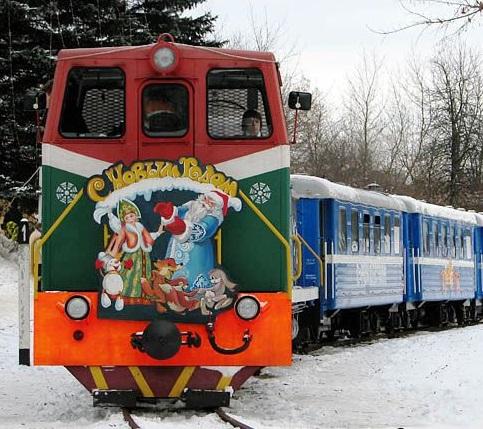Новогодний экспресс к белорусскому Деду Морозу