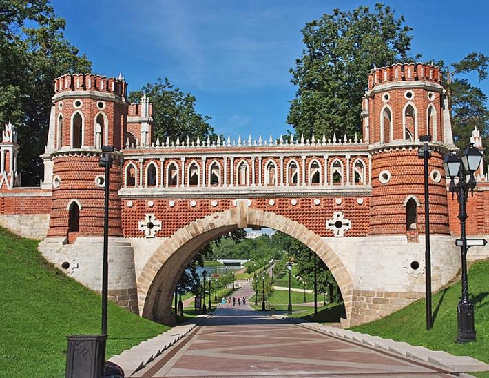 Путешествие из Петергофа в Царицыно 26.09.2020