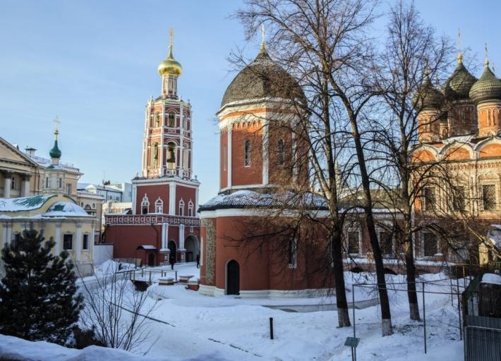 Высоко-Петровский монастырь 06.03.2021